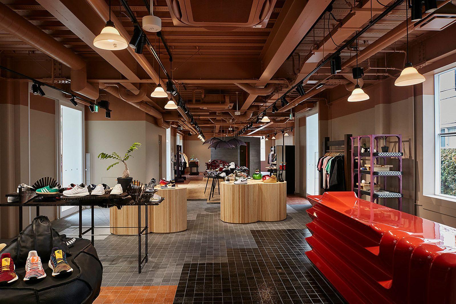 Sneakernstuff sneaker store tokyo