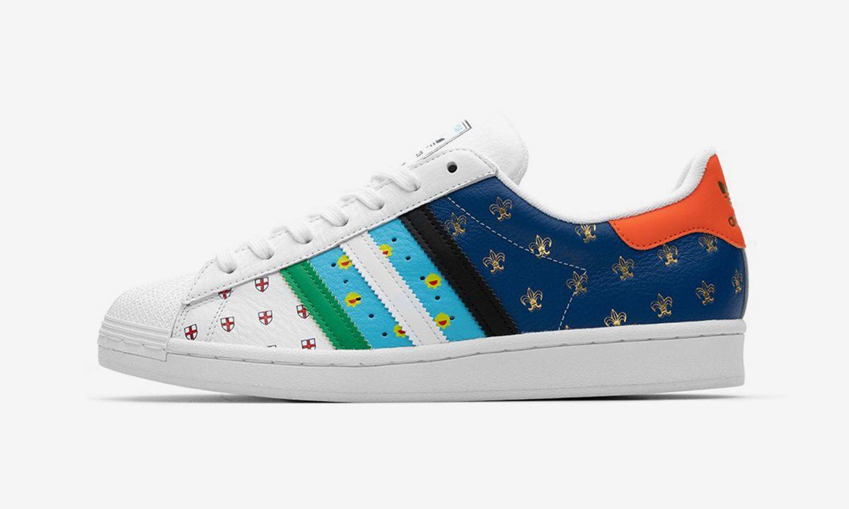 size? x adidas Superstar