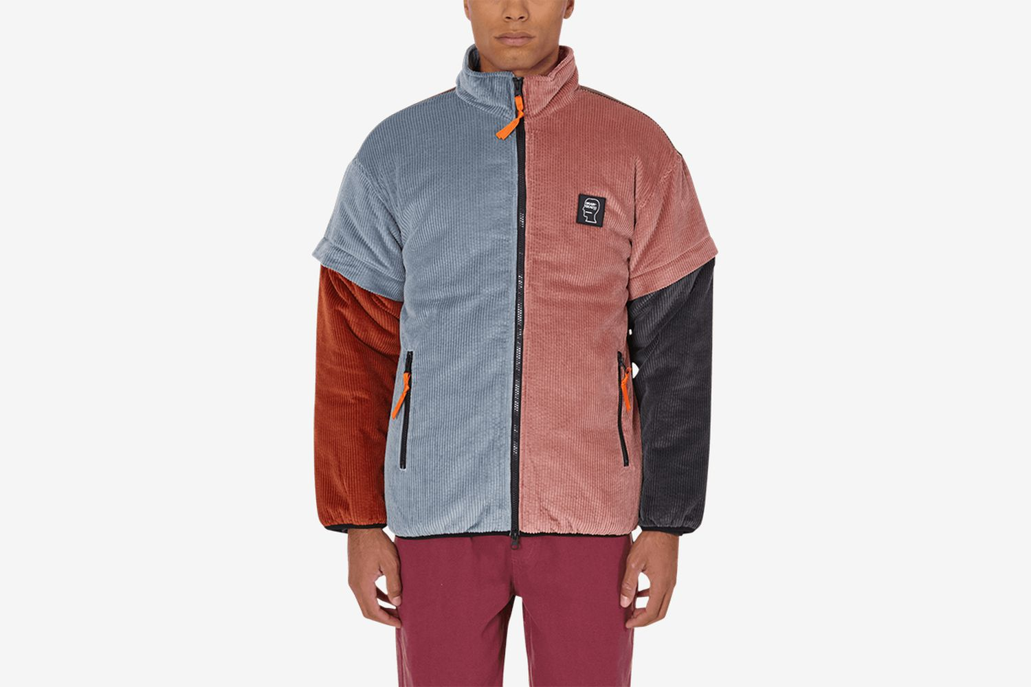 Color Blocked Mirco Jacket