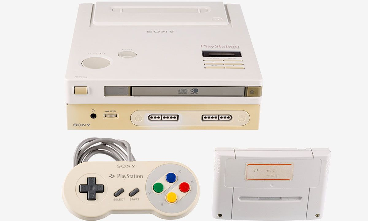 """Super Rare Nintendo x Sony """"Play Station"""" Prototype Could Fetch Millions at Auction"""