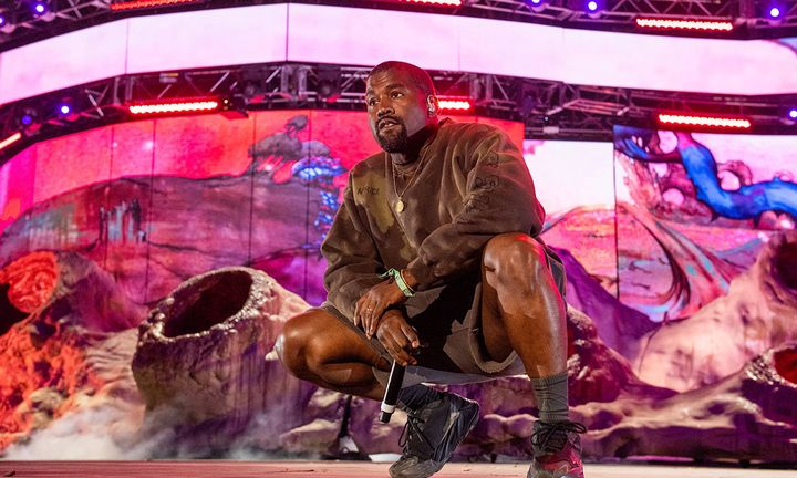 Kanye West at Coachella