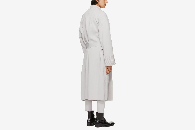 Milan Rib Enwrap Coat
