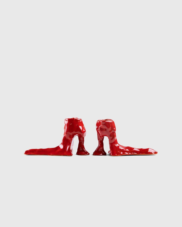Laura Welker – Candle Holder Red - Image 1
