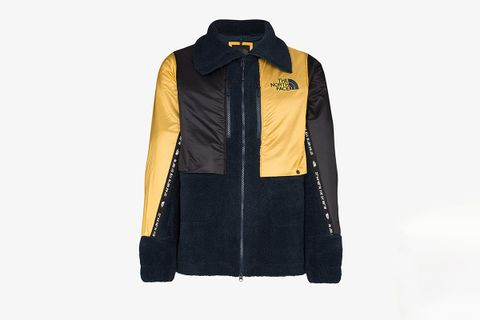 Fleece Zipped Logo Jacket