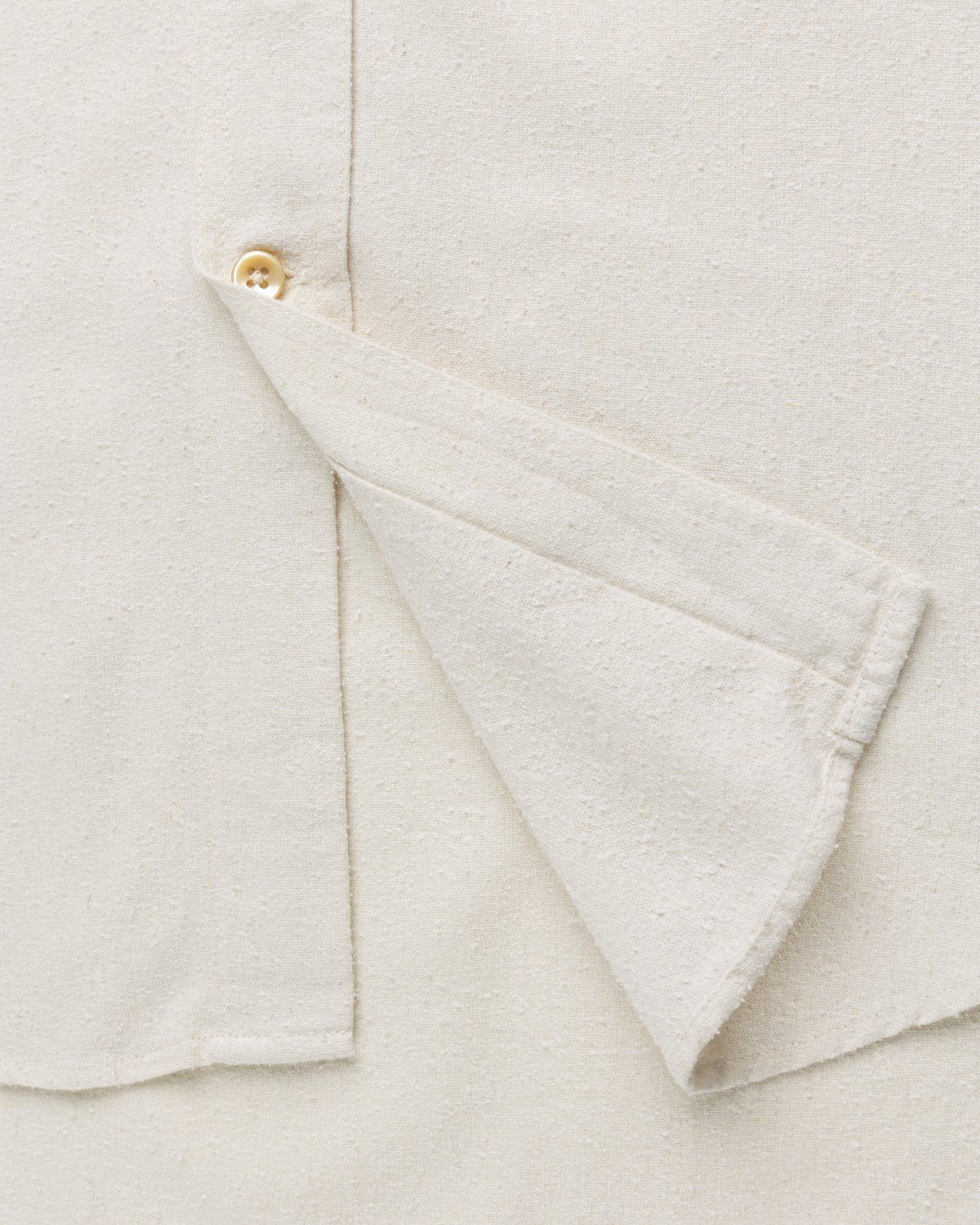 Our Legacy – Classic Shirt White Silk - Image 5