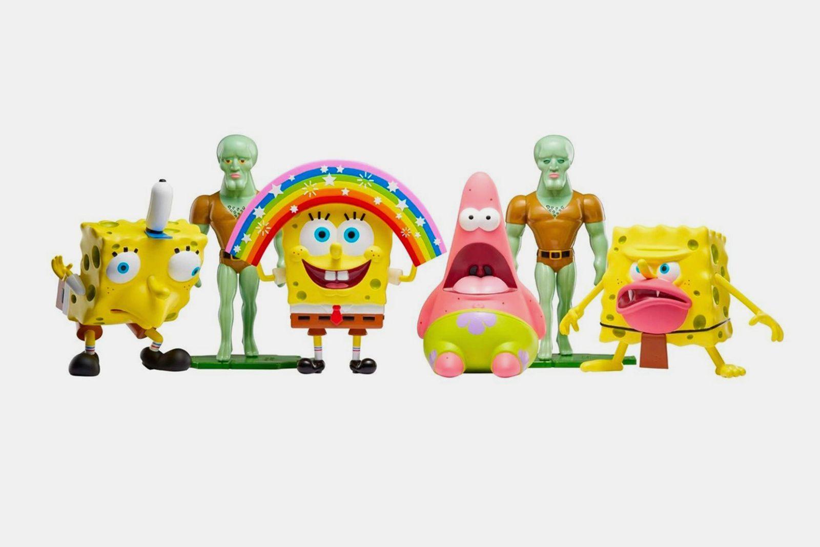 nickelodeon spongebob squarepants meme figures