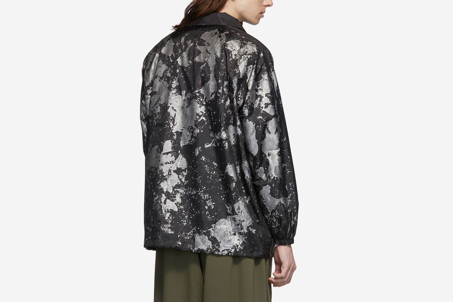 Reflective Paint Coach Jacket