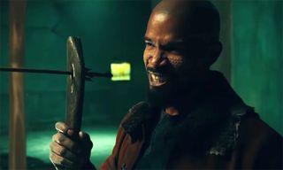 Jamie Foxx Trains Taron Egerton to Be a Thief in New 'Robin Hood' Trailer