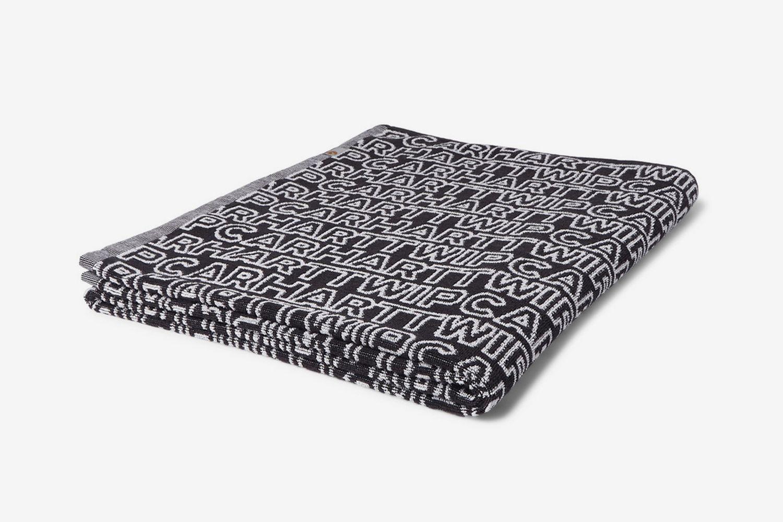 Logo-Jacquard Cotton-Terry Towel