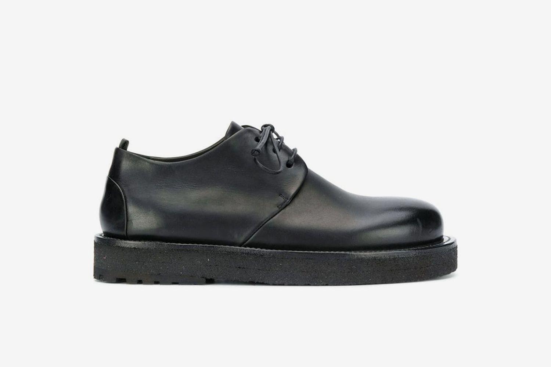 Platform Sole Derby Shoes
