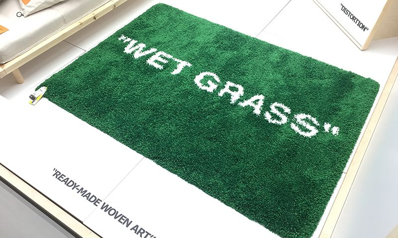 Virgil Abloh S Ikea Rugs Are Releasing In Japan Next Month