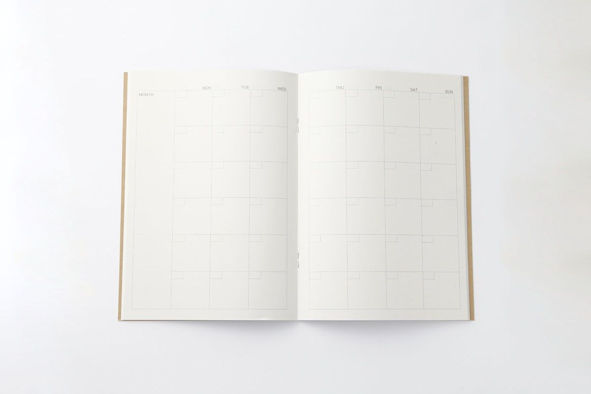 A5 Schedule Note (For Monthly - 32 Sheets)