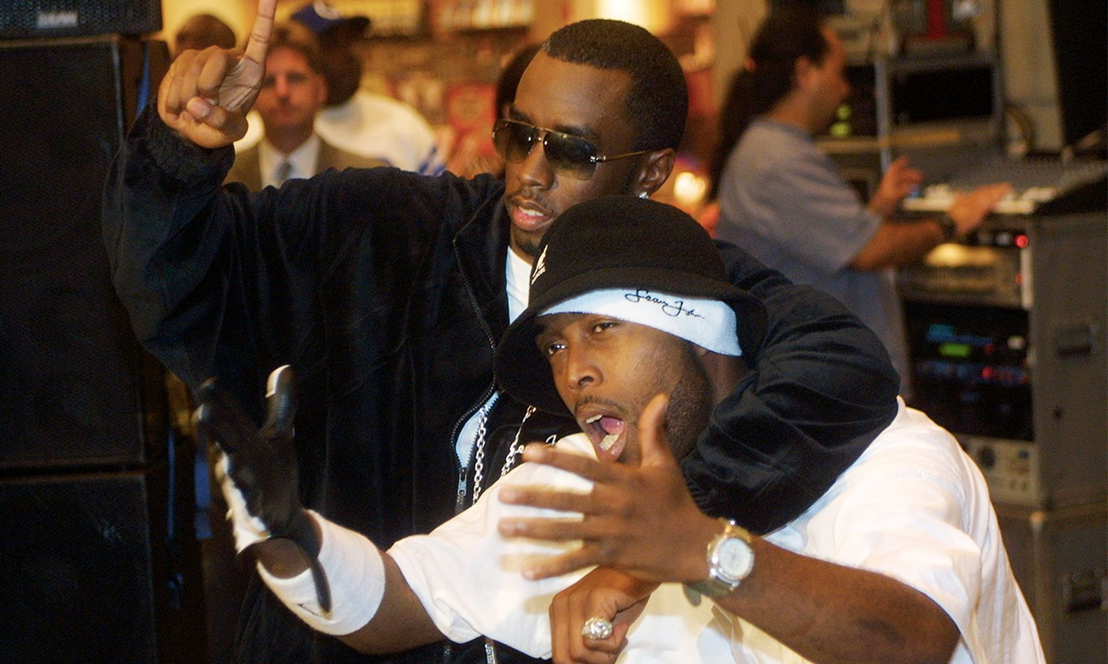 P Diddy and Black Rob