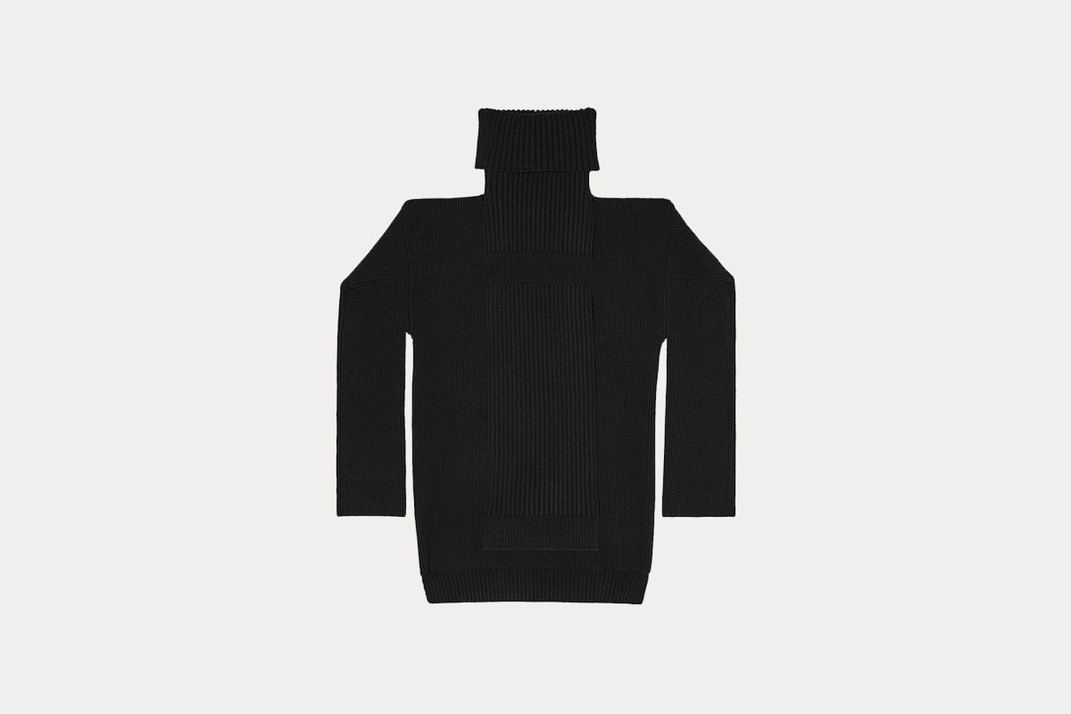 Convertible Wool Hydro Turtleneck