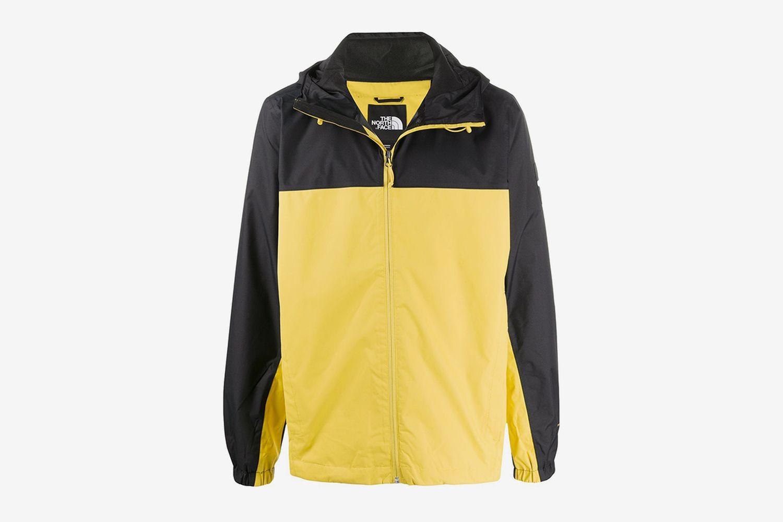 Colour Block Rain Jacket