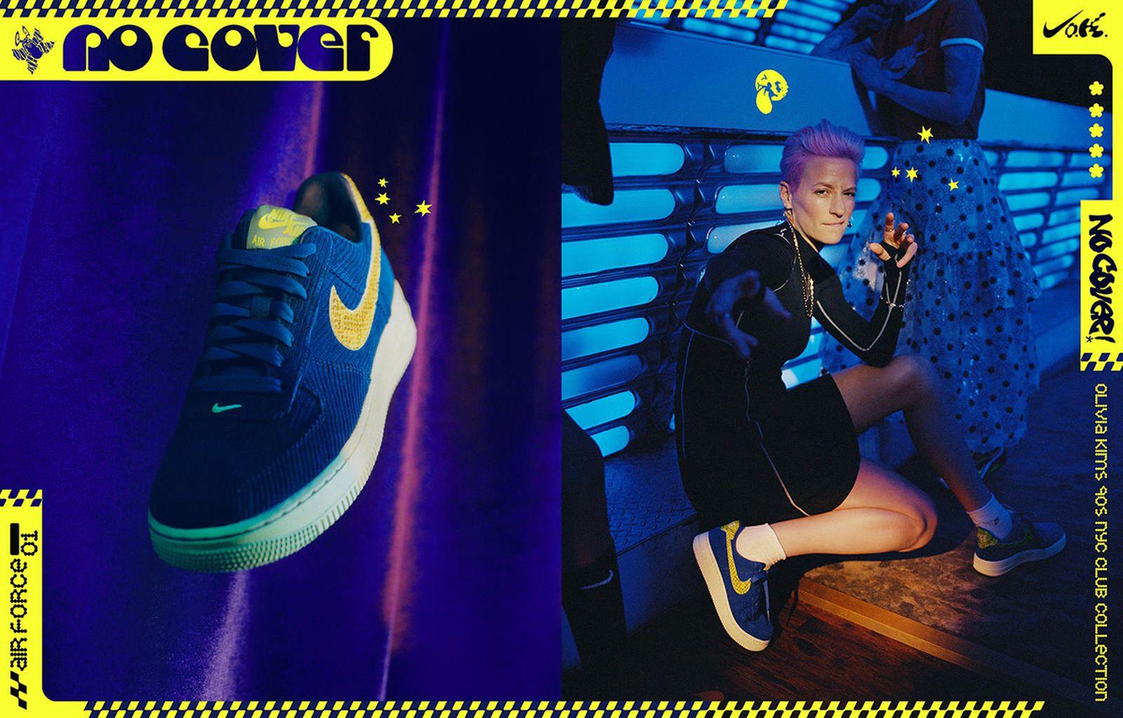 "Olivia Kim x Nike ""No Cover"" collection"