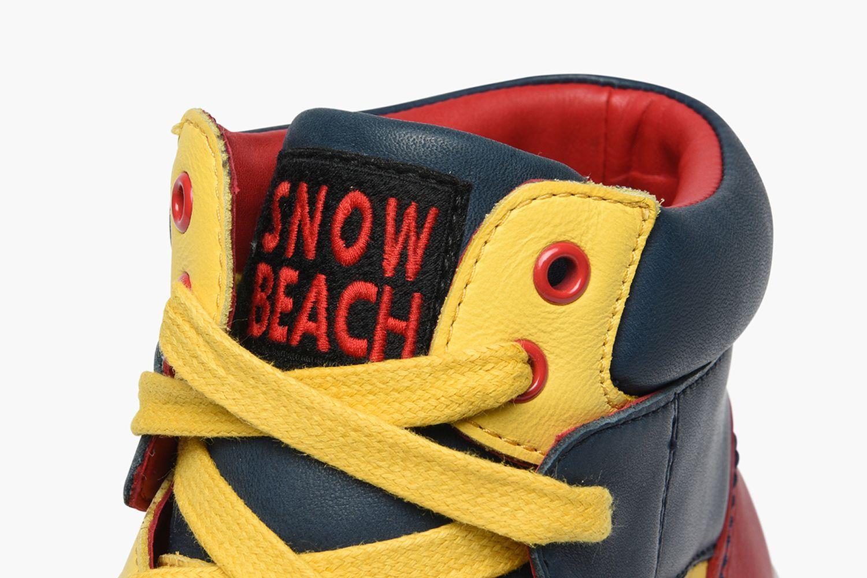 Snow Beach High-Top Sneaker