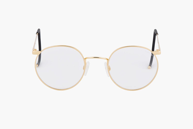 Gold P-3 Glasses