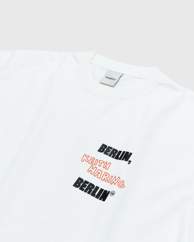 Highsnobiety x Keith Haring – T-Shirt White - Image 4