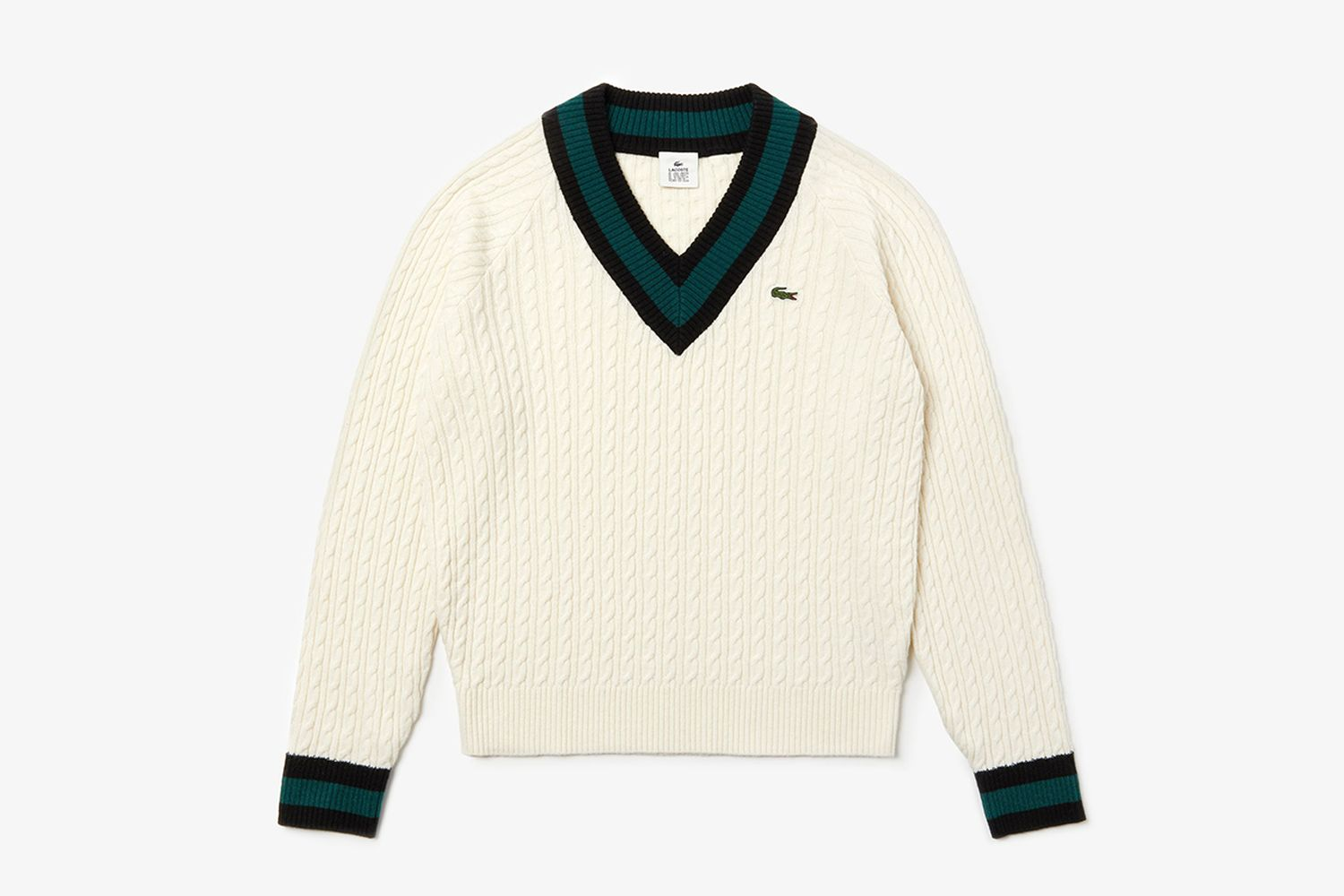 LIVE Cable Knit Sweater