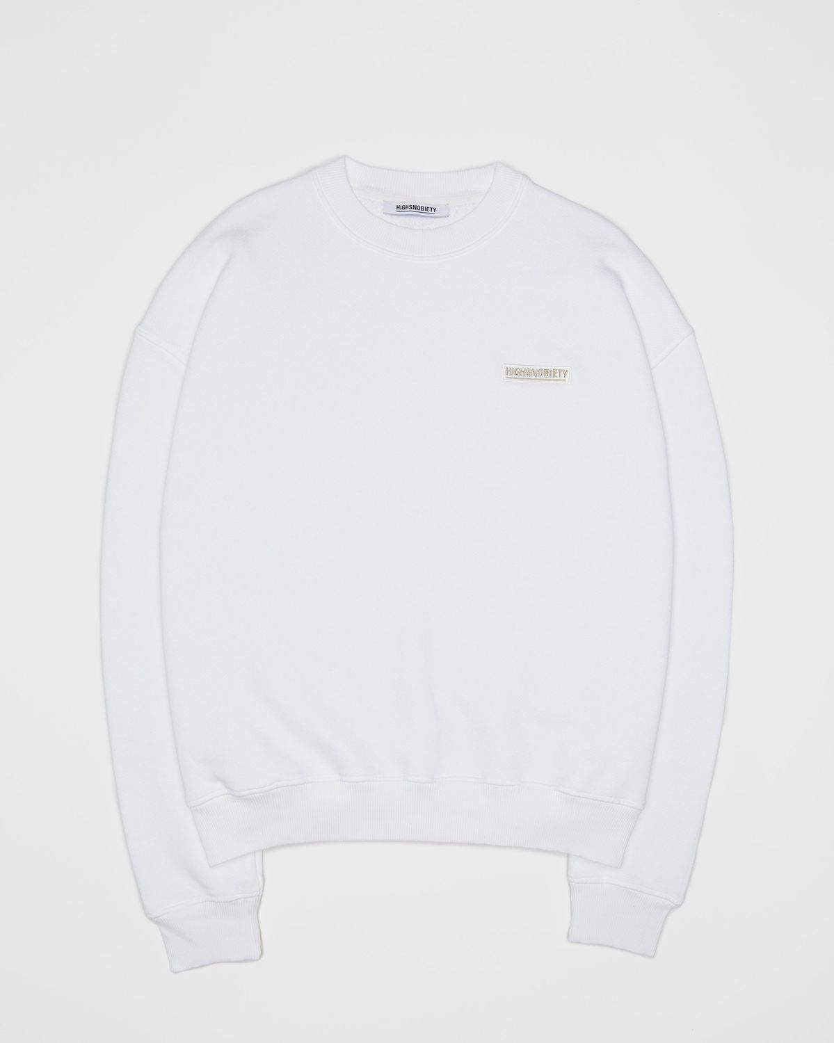 Highsnobiety Staples — Sweatshirt White - Image 1