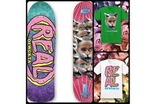 d7205997c 5 more. Previous Next. Skateboarder Chima Ferguson and the Odd Future folks  have teamed up with Real Skateboards.
