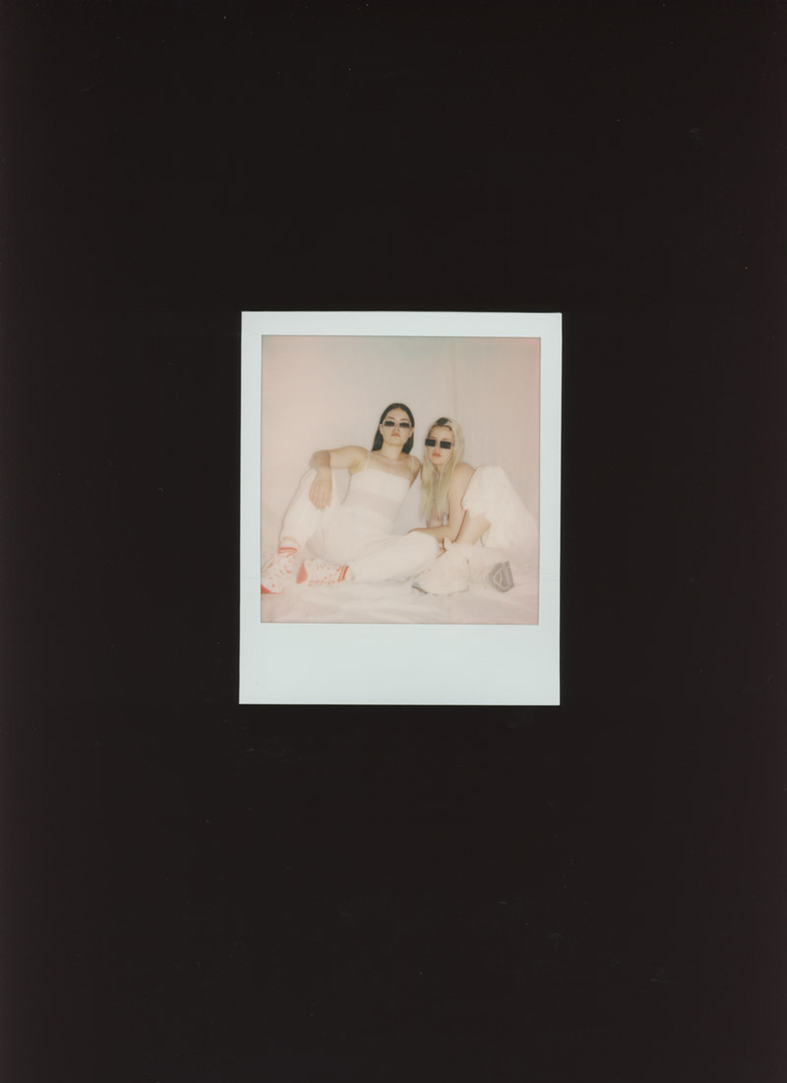 CHLOE AND CHENELL polaroid photograph