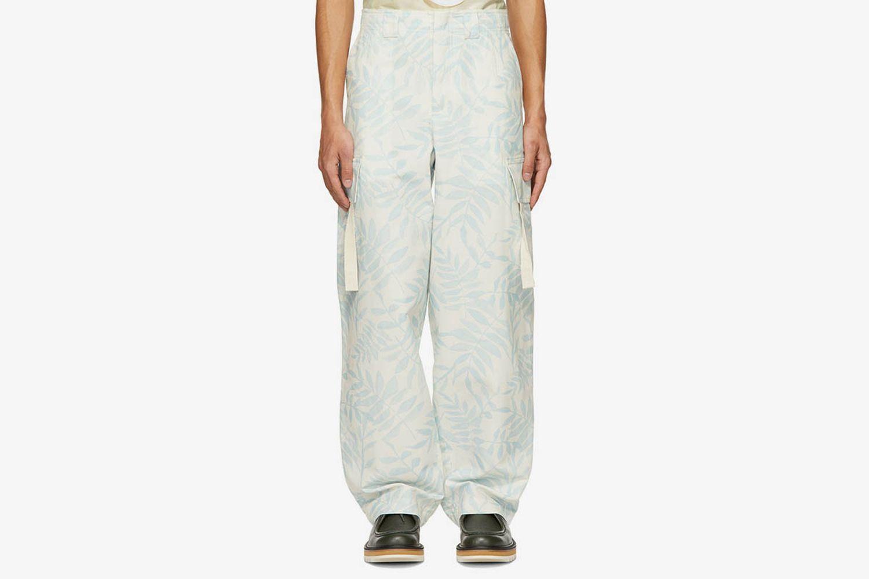 Blue Le Pantalon Alzu Cargo Pants