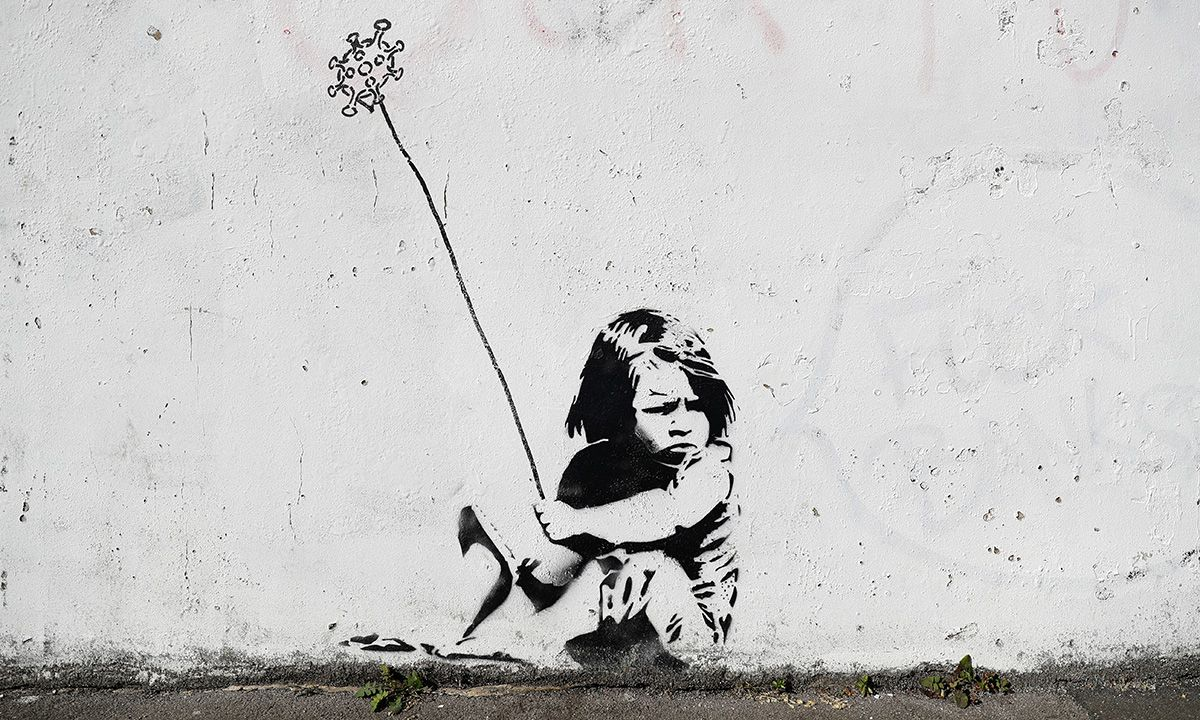 Banksy game changer charity 03