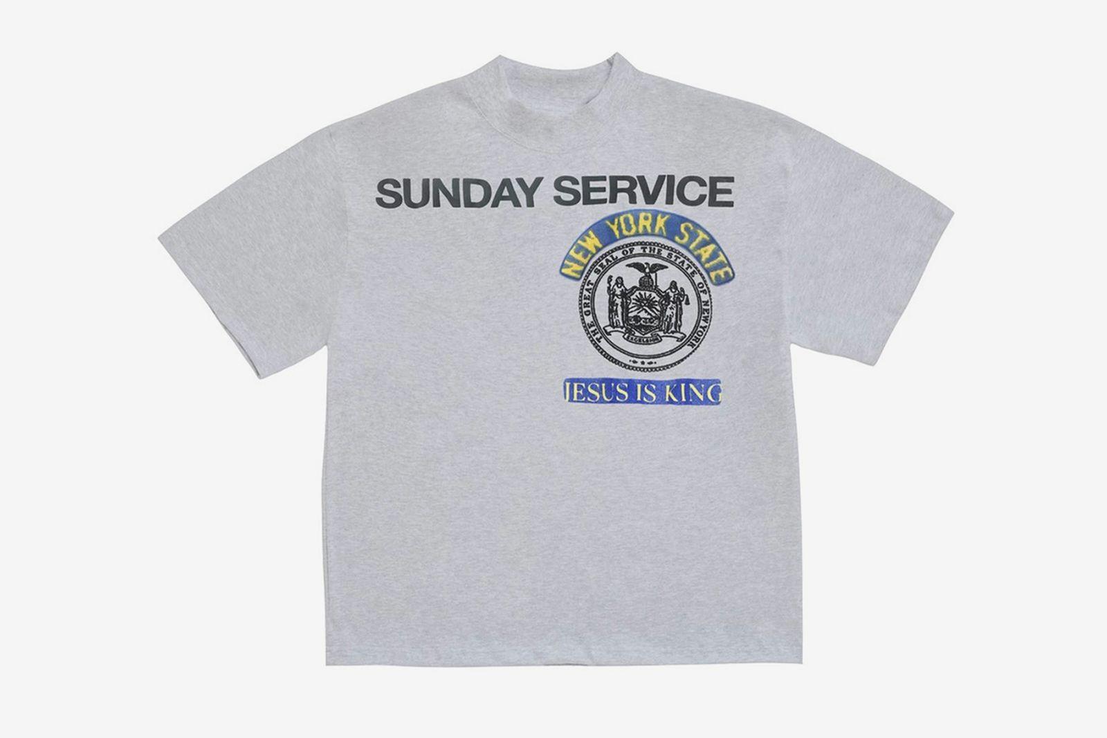 Kanye West Jesus Is King grey T-shirt
