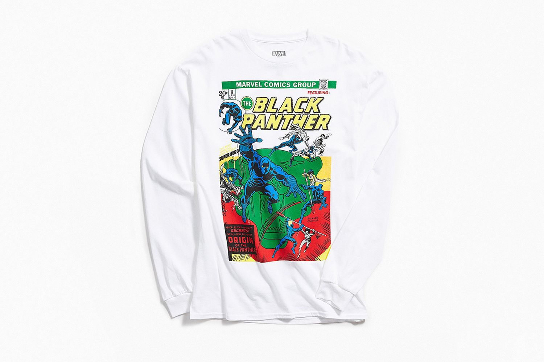 Black Panther Comic Longsleeve