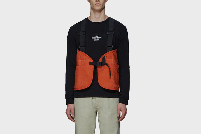 Chest Bag Top in Orange