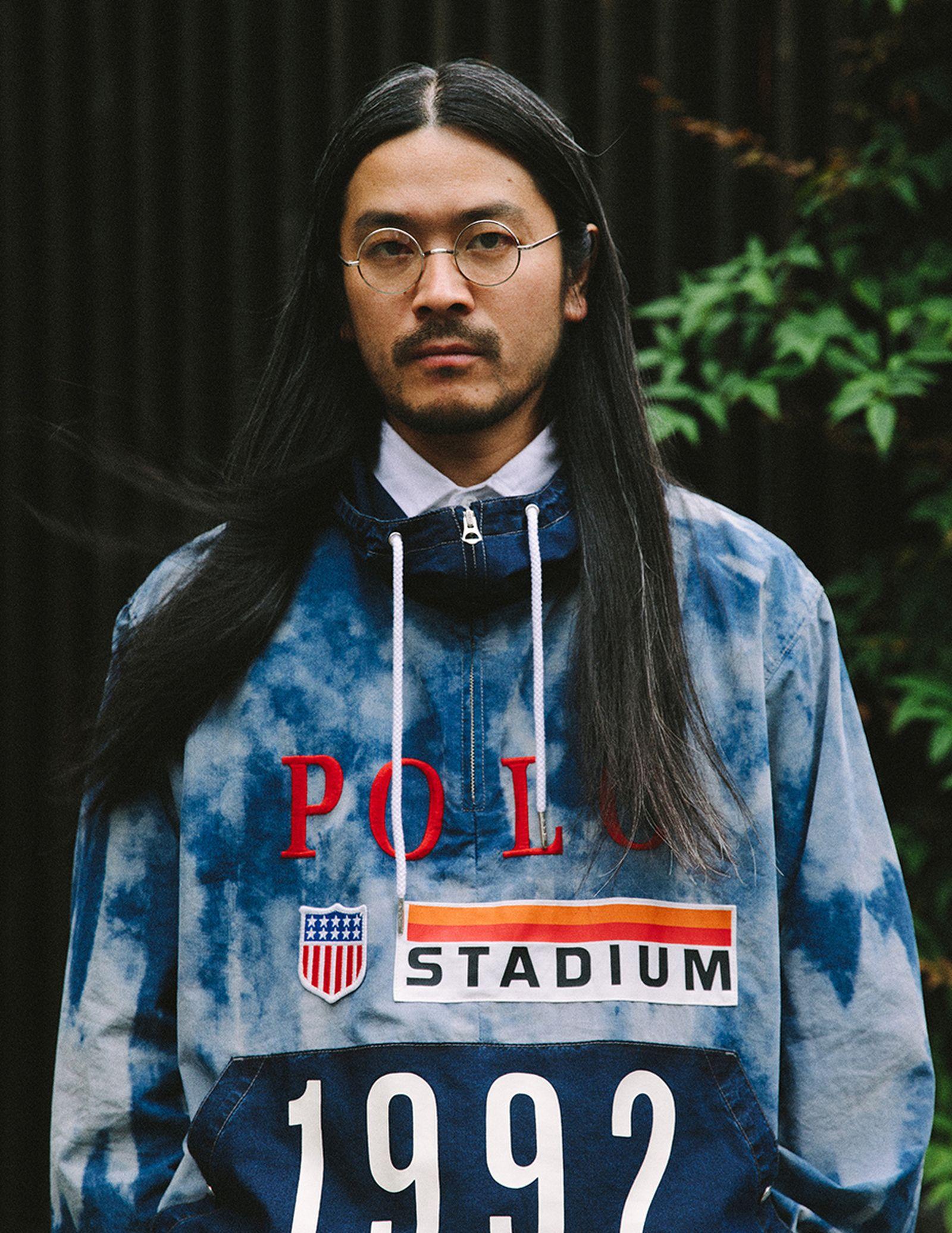 ralph lauren indigo stadium collection