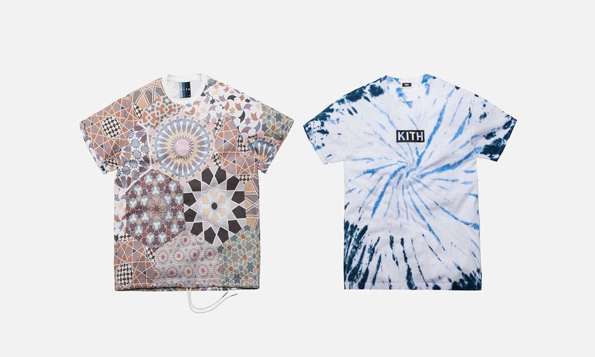 KITH Plays With Moroccan Prints for Summer 2019