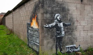 Banksy's New Holiday Mural Has a Surprising Twist