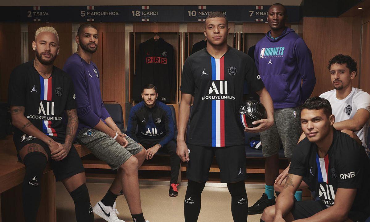 Jordan Brand Releases New Paris Saint-Germain Kit