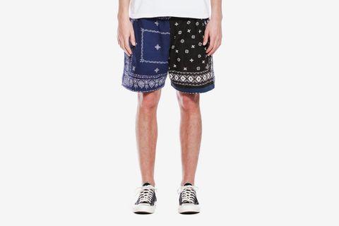 SS Patchwork Bandana Shorts