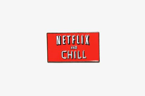 T's for G's Netflix And Chill Pin