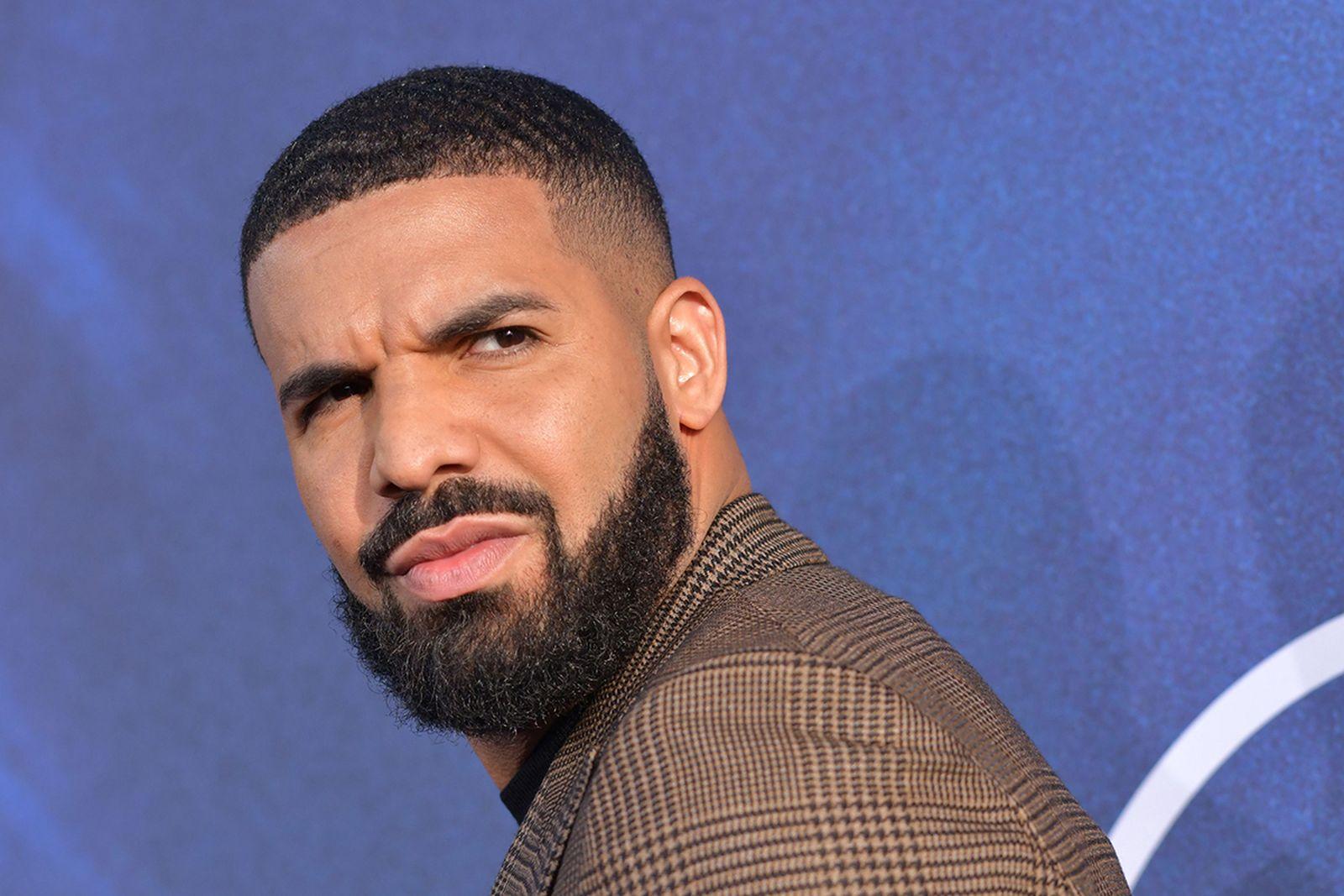 Drake beard red carpet