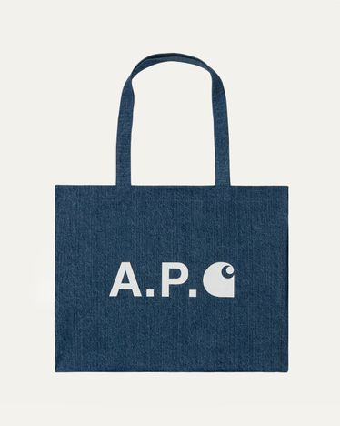 A.P.C. x Carhartt WIP - Alan Shopping Bag Indigo