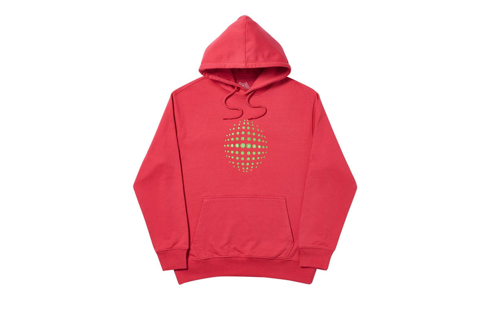 Palace 2019 Autumn Hoodie Sphere red front