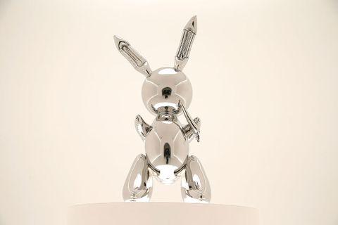 jeff koons rabbit