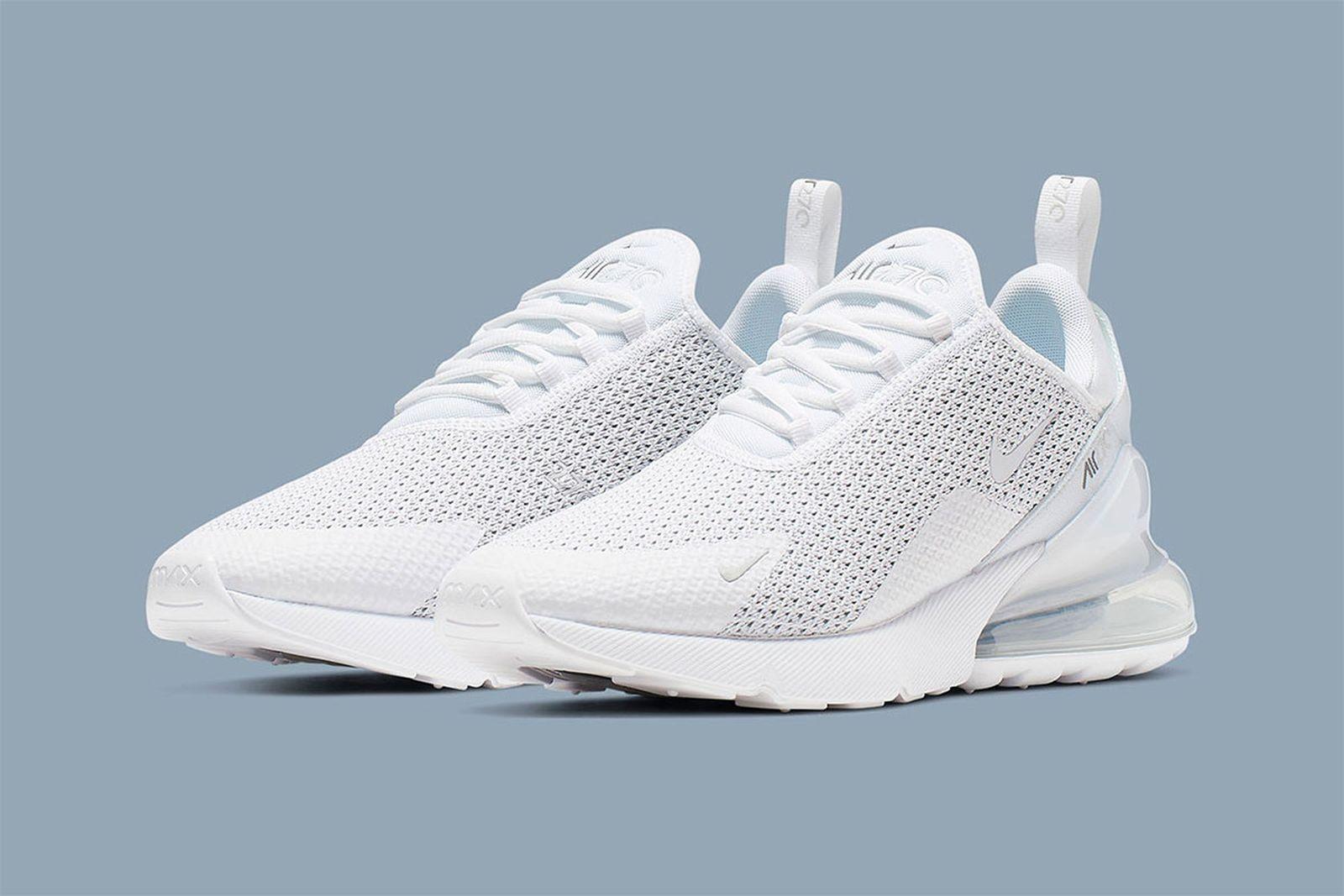nike air max 270 platinum white release date price info