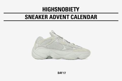 """check out ae162 130ee Highsnobiety Advent Calendar: adidas Originals YEEZY 500 """"Salt"""""""