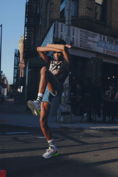Parker Kit Hill Hits the Streets of NYC in the adidas ZX 2K Boosts 31