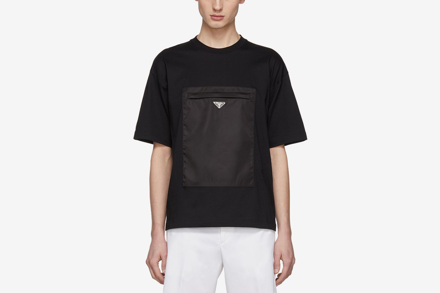 Gabardine Pocket T-Shirt