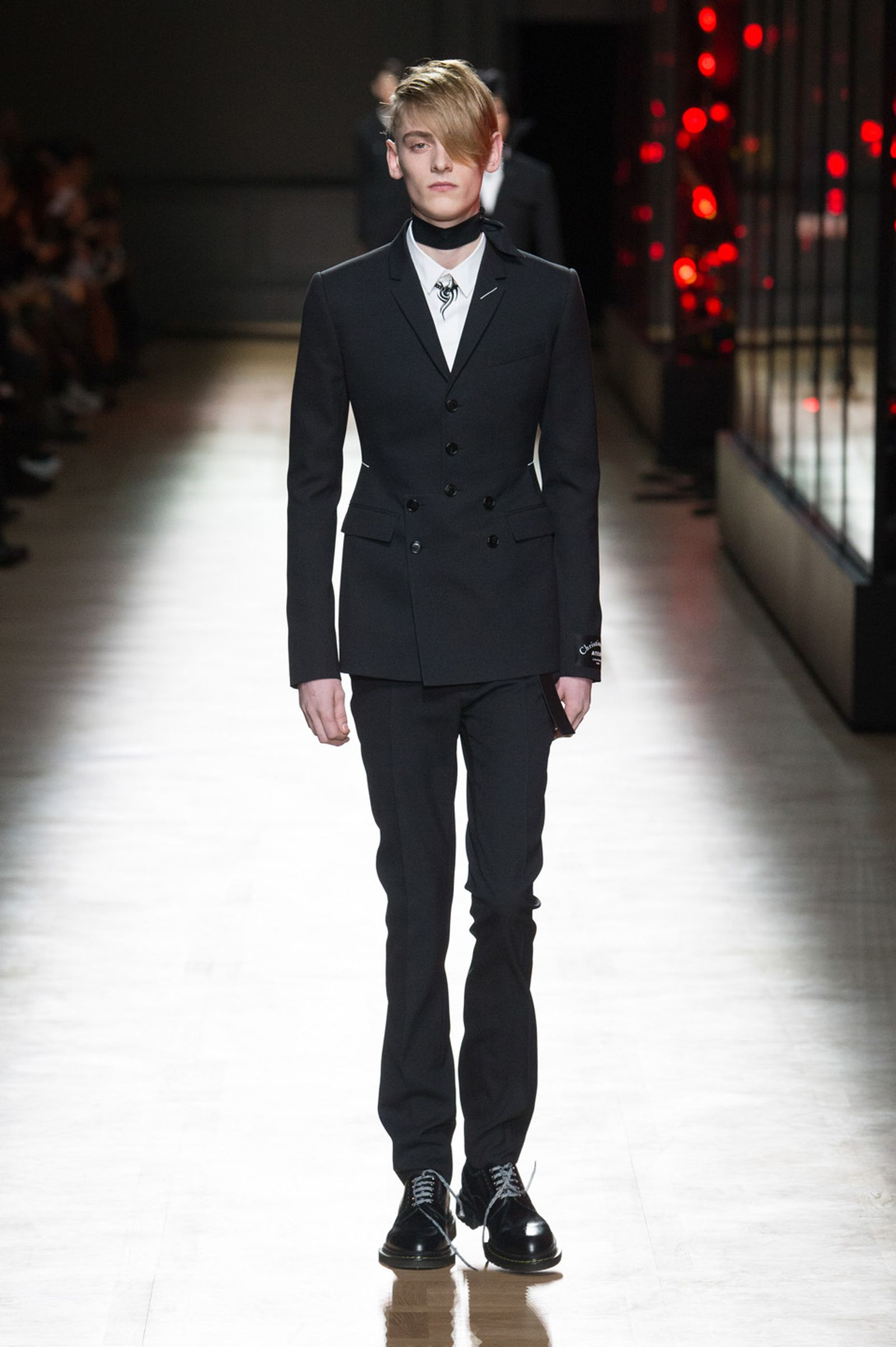 DIOR HOMME WINTER 18 19 BY PATRICE STABLE look02 Fall/WInter 2018 runway