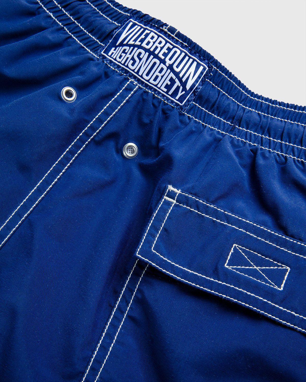 Vilebrequin x Highsnobiety — Logo Shorts Blue - Image 5