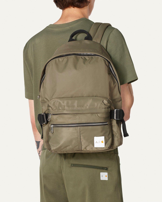 A.P.C. x Carhartt WIP - Shawn Backpack Khaki - Image 2