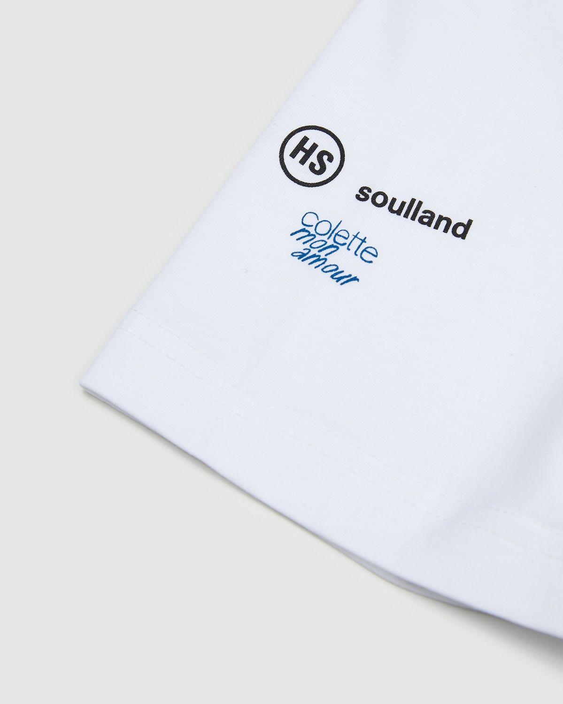 Colette Mon Amour x Soulland -  Snoopy Comics White T-Shirt - Image 4